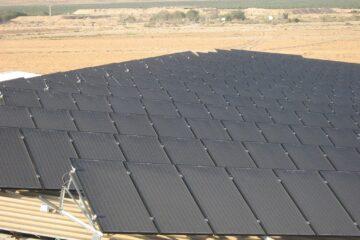 מערכת סולארית חלוצית בחוות בודדים